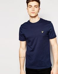 Lyle And Scott Vintage T Shirt With Eagle Logo Newnavy