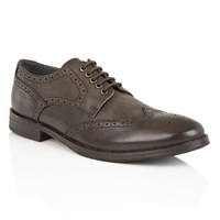 Frank Wright Merc Mens Lace Up Brogues Brown
