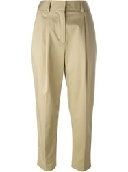 3.1 Phillip Lim Cropped Chinos Nude And Neutrals
