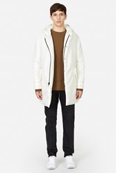 Patrik Ervell Flight Nylon Insulated Parka Off White