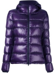 Herno Padded Jacket Pink And Purple