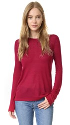 Jenni Kayne Crew Neck Sweater Red