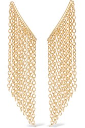 Elizabeth And James Kona Gold Tone Earrings
