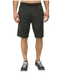 Adidas Team Issue Fitted Short Base Green Heather Black Men's Shorts Gray