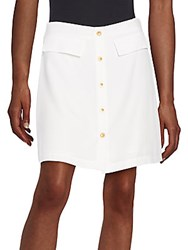1.State Button Front Skirt Cloud
