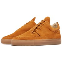 Filling Pieces Cognac Suede Apache Low Top Sneakers Brown