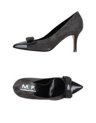 Mauro Fedeli Pumps Grey