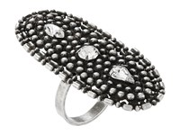 Dannijo Twilight Ring Ox Silver Clear Ring