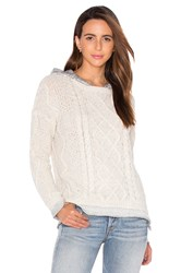Generation Love Phoebe Cable Knit Sweater Ivory