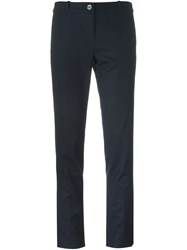 Michael Michael Kors Slim Fit Trousers Blue