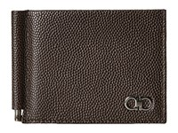 Salvatore Ferragamo Ten Forty One Bifold With Clip 669788 Chocolate Bi Fold Wallet Brown