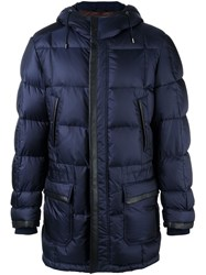 Brioni Quilted Jacket Blue