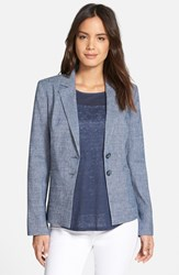 Women's Nordstrom Collection Linen Blend Jacket