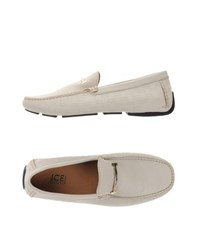 Ice Iceberg Footwear Moccasins Men Ivory