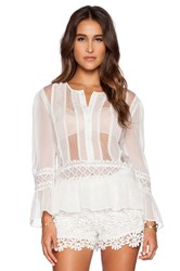 Candela Aurora Top White