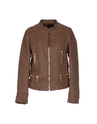 Yes Zee By Essenza Jackets Cocoa
