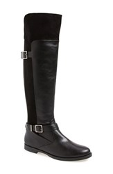 Women's Bella Vita 'Romy' Over The Knee Boot Black Super Suede