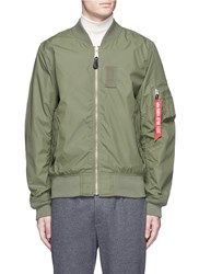 Alpha Industries 'Skymaster' Lightweight Ma 1 Bomber Jacket Green