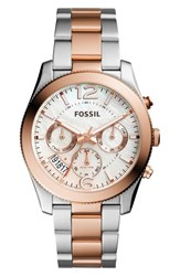Fossil Women's 'Perfect Boyfriend' Multifunction Bracelet Watch 39Mm