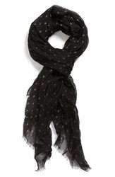 John Varvatos Men's Collection Mini Skull Dot Scarf