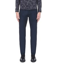 Ted Baker Straight Fit Tapered Jeans Rinse Denim