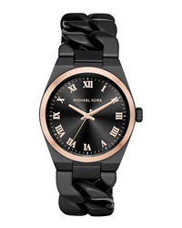 38Mm Channing Chain Link Watch Michael Kors