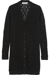 Pringle Open Knit Cashmere Blend Cardigan