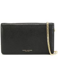 Marc Jacobs 'Perry' Wallet Crossbody Bag Black