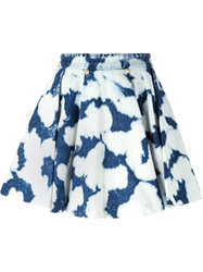 Fausto Puglisi Tie Dye Flared Skirt