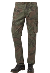 Alpha Industries Tough C Cargo Trousers Khaki Oliv