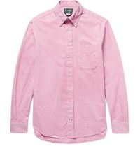 Gitman Brothers Vintage Button Down Collar Cotton Oxford Shirt Pink