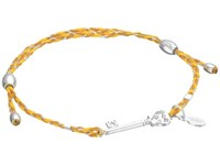 Alex And Ani Precious Thread Skeleton Key Bracelet Yellow Silver Bracelet