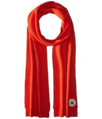 Converse Core Knit Scarf Signal Red Scarves Multi
