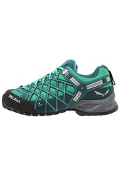 Salewa Wildfire Gtx Walking Shoes Cypress River Blue Turquoise