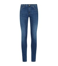 Armani Jeans J28 Orchid Skinny Female Blue