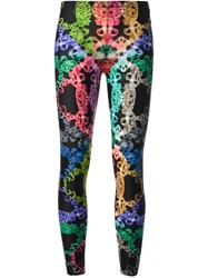 Versus Baroque Print Leggings Multicolour