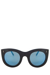 Illesteva Boca Cateye Sunglasses Black