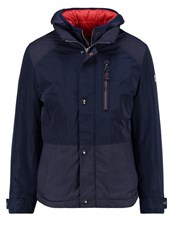 Bugatti Winter Jacket Marine Dark Blue