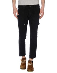 Bad Spirit Denim Capris Black