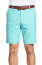 Peter Millar 'Salem' Flat Front Shorts Pickle