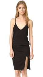 Feel The Piece Jazzy Crisscross Back Dress Black