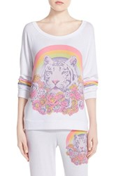 Women's Lauren Moshi 'Brenna' Graphic Sweatshirt