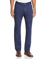 Robert Graham Milo Relaxed Fit Chino Pants Dark Blue