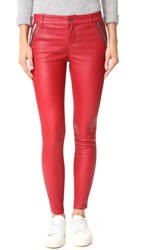 Rta Lucy Leather Pants Lipstick