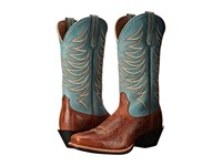 Ariat Legend Legacy Gingersnap Sky Blue Cowboy Boots Brown