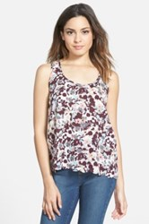 Frenchi Scallop Hem Tank Juniors Multi