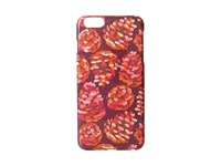 Snap On Case For Iphone 6 Plus Rosewood Pinecones Cell Phone Case Red