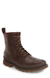 Sorel Men's Madson Wingtip Boot Madder Brown
