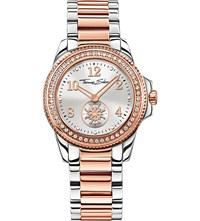 Thomas Sabo Glam And Soul Two Tone White Zirconia Watch