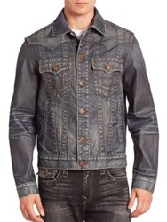 True Religion Jimmy Badlands Denim Jacket Worn Ranch